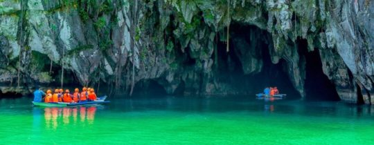 Entree Underground River - Puerto Princesa, Palawan, Filipijnen