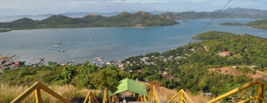 Uitzichtpunt Mount Tapyas - Coron, Palawan, Filipijnen