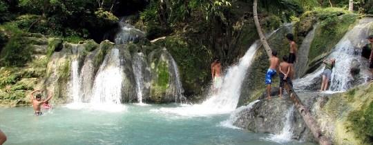 Hagimit Falls - Samal Island, Davao, Mindanao, Filipijnen