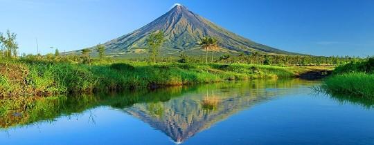 Mayon Vulkaan - Legazpi, Albay, Luzon Filipijnen