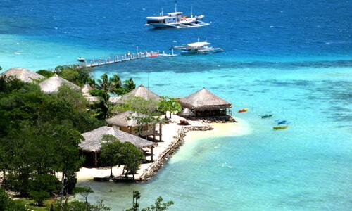 Luchtfoto Resort M01 - Coron Omgeving, Palawan, Filipijnen