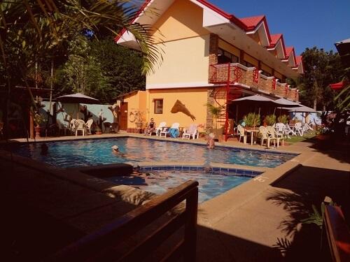 Zwembad Hotel B01 - Puerto Princesa