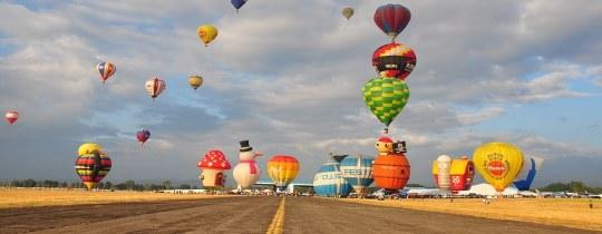 Hot Air Balloon Fiesta - Clark, Filipijnen