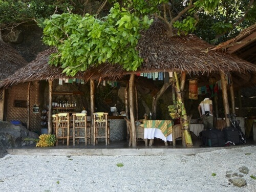 Restaurant & Bar Resort B01 - Apo Island, Negros Oriental, Central Visayas, Filipijnen