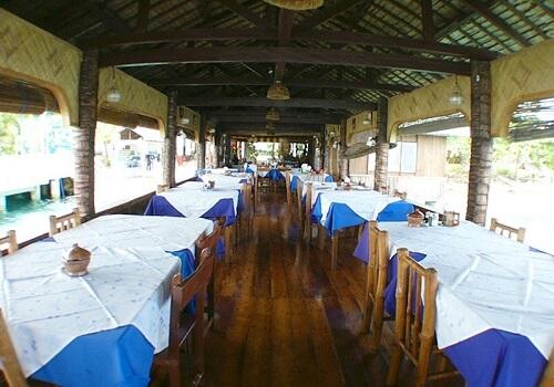 Restaurant Hotel B21 - Oslob Omgeving, Cebu, Central Visayas, Filipijnen