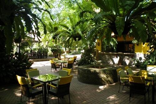 Tuin & Restaurant Hotel B11 - Samal Island, Davao Region, Mindanao, Filipijnen