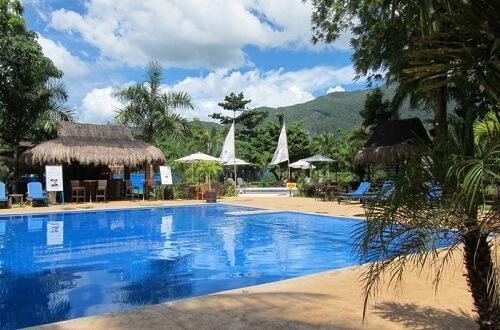 Zwembad Resort L11 Underground River Omgeving - Puerto Princesa, Palawan, Filipijnen