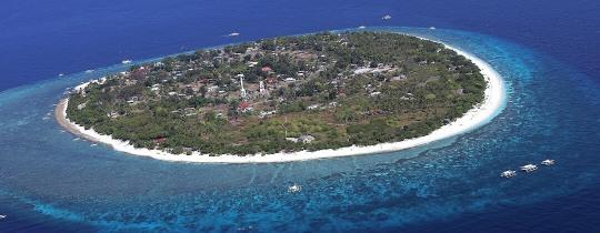 Balicasag Island - Bohol, Central Visayas, Filipijnen