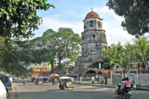 Spaanse klokkentoren (Belfry) - Dumaguete, Negros Oriental, Central Visayas, Filipijnen
