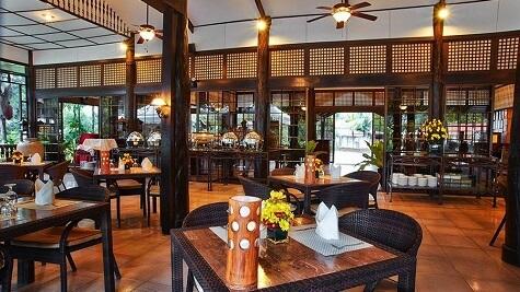 Restaurant Resort M11 - Mactan Island, Cebu, Filipijnen