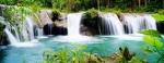 Cambugahay Watervallen - Siquijor, Visayas, Filipijnen